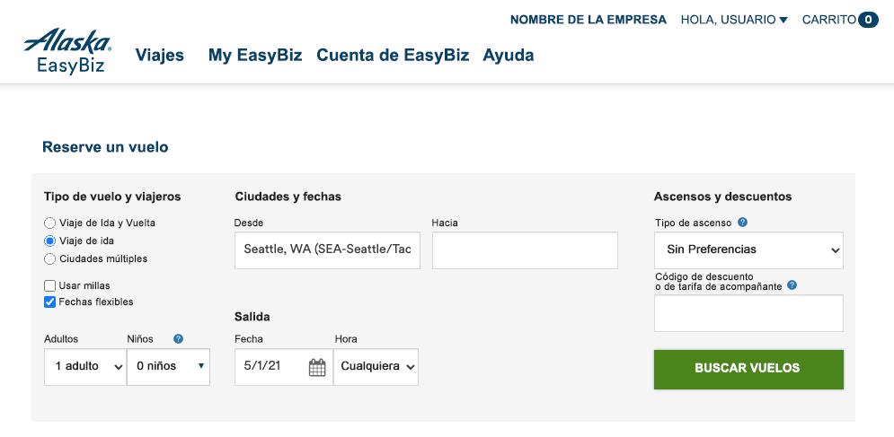 EasyBiz booking formlet