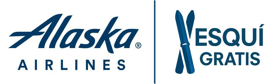 Alaska Airlines - Logo de Esquíe gratis